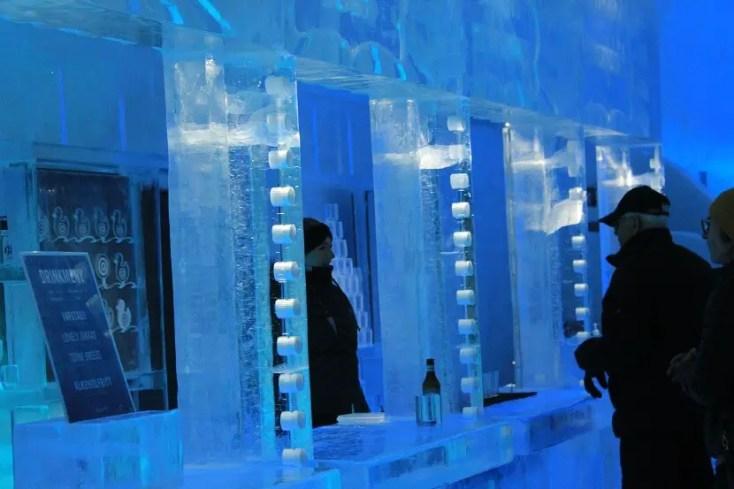 ice bar kiruna, Laponia Suedeză