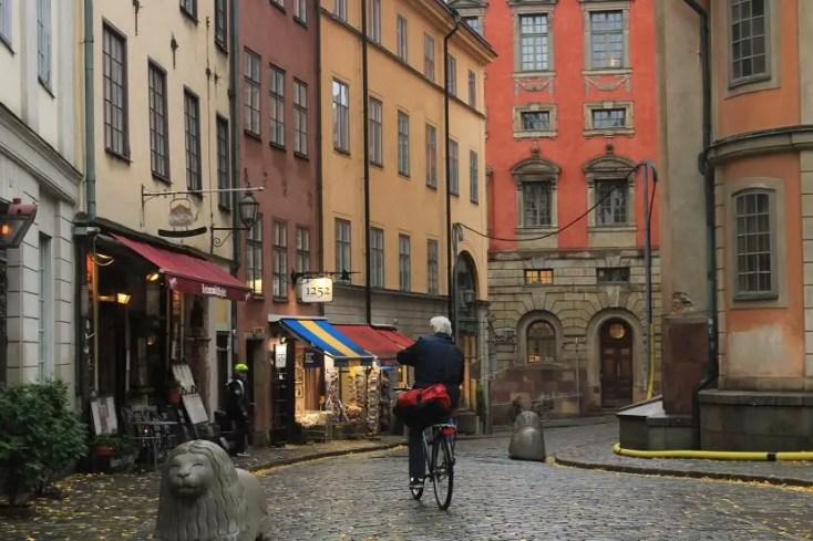 City center of Stockholm