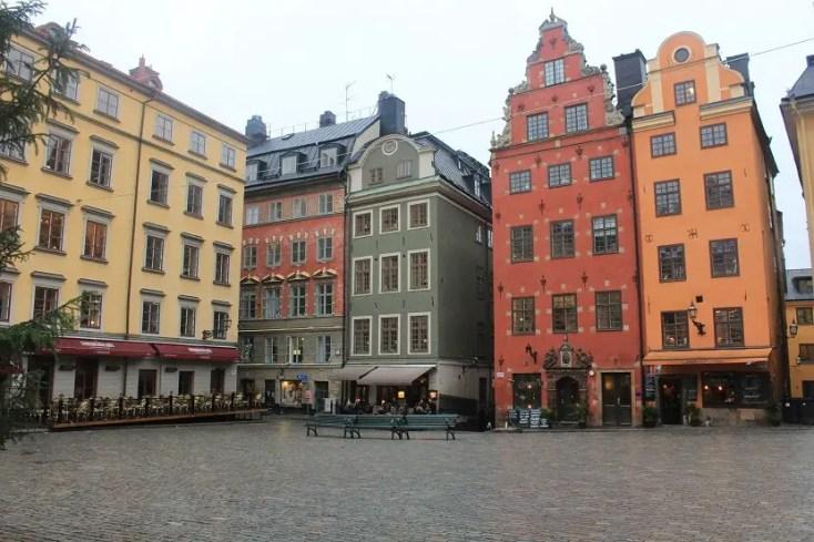 Gamla Stan Stortorget Square, circuit Suedia