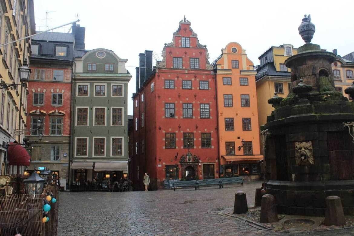 The main square in Stockholm