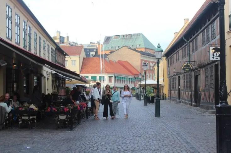 Malmo old city center