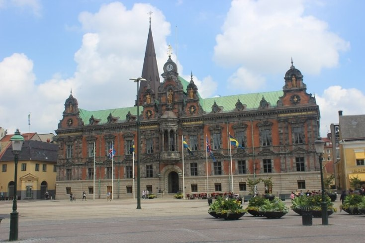 Malmo cityhall stortorget