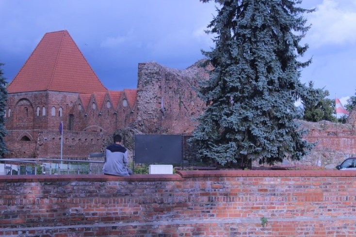 The Castle of the Teutonic Knights in Torun
