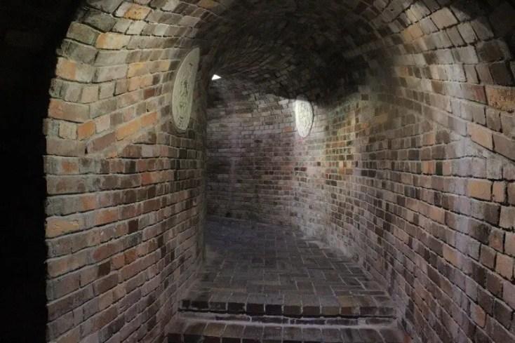 Underground tourist route