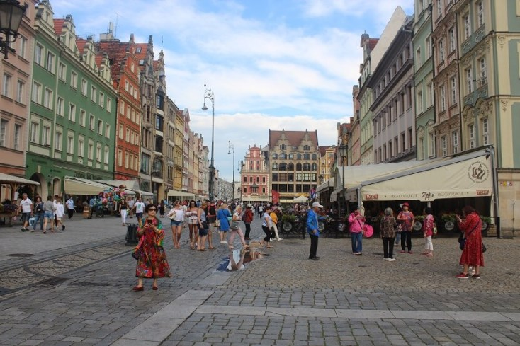 Wroclaw Old Market Square - one of the best things to do when you visit Wroclaw, Poland