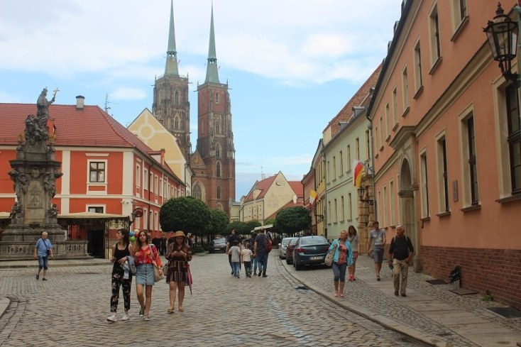 Visiting the Cathedral Island - one of the best things to do when you visit Wroclaw