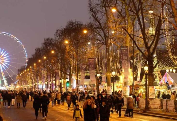 Champs-Elysee - best attractions in Paris