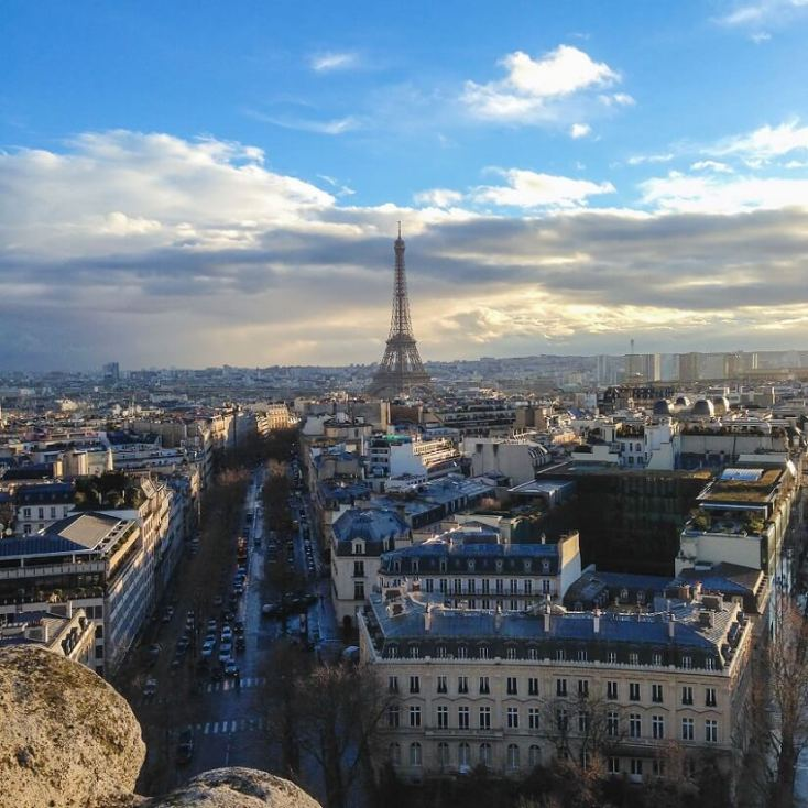 Arch of Triomphe - attractions in Paris