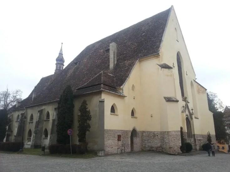 Biserica Manastirii, obiective turistice din Sighisoara