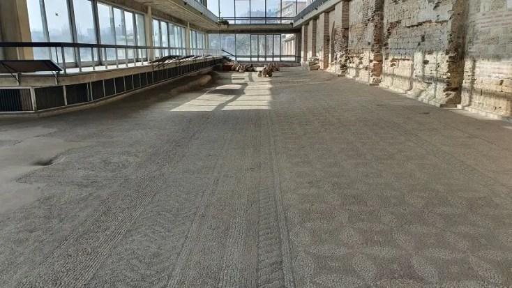 Edificiul Roman cu Mozaic - obiective turistice Constanta