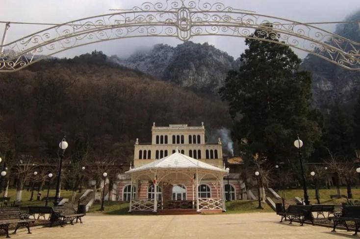 Parcul Central din Băile Herculane
