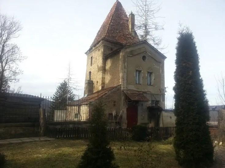 Turnul Franghierilor locuit de clopotarul Bisericii din Deal