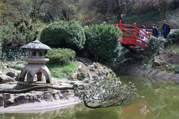 Gradina Japoneza, obiective turistice din Cluj-Napoca