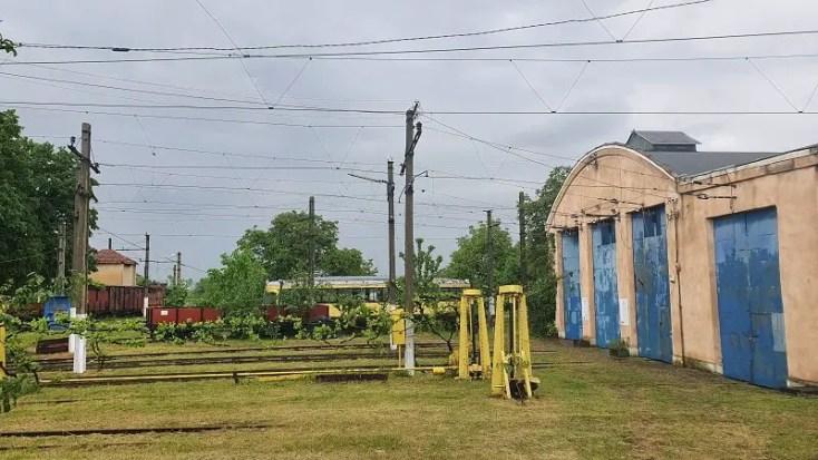 Muzeul Tramvaiului Electric Sageata verde din Ghioroc