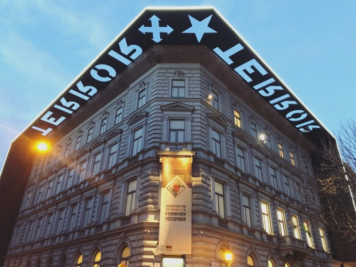 House of Terror, Budapest, Hungary, communism and red tourism in Europe