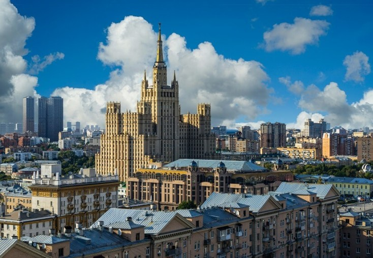 Seven Sisters, Moscow, Russia, red tourism and communism around the world