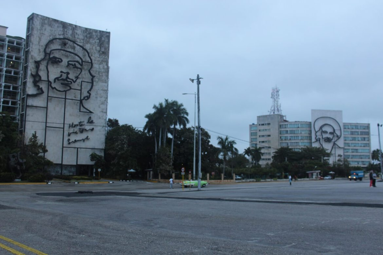 Reveolution Square, Havana, Cuba, red tourism and communism around the world
