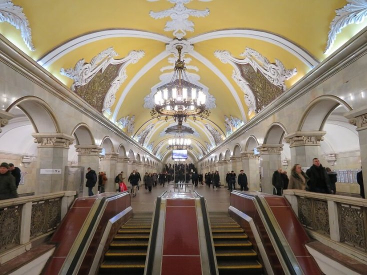 Moscow Metro, Russia, red tourism and communism around the world