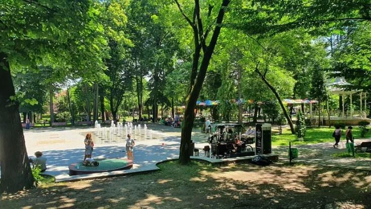Parcul Cetatii - obiective turistice din Deva