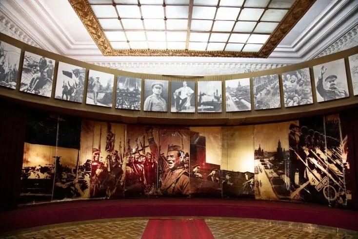 Stalin's Museum, Gori, Georgia, red tourism and communism around the world