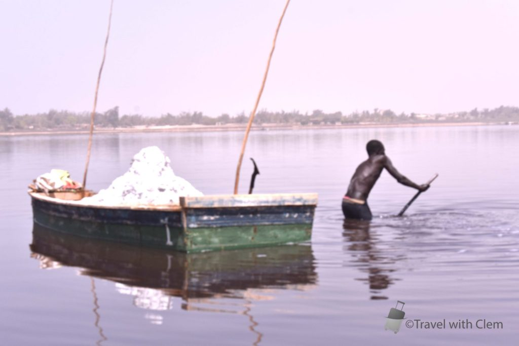Visiting the Lac Rose in Senegal - Travel with Clem