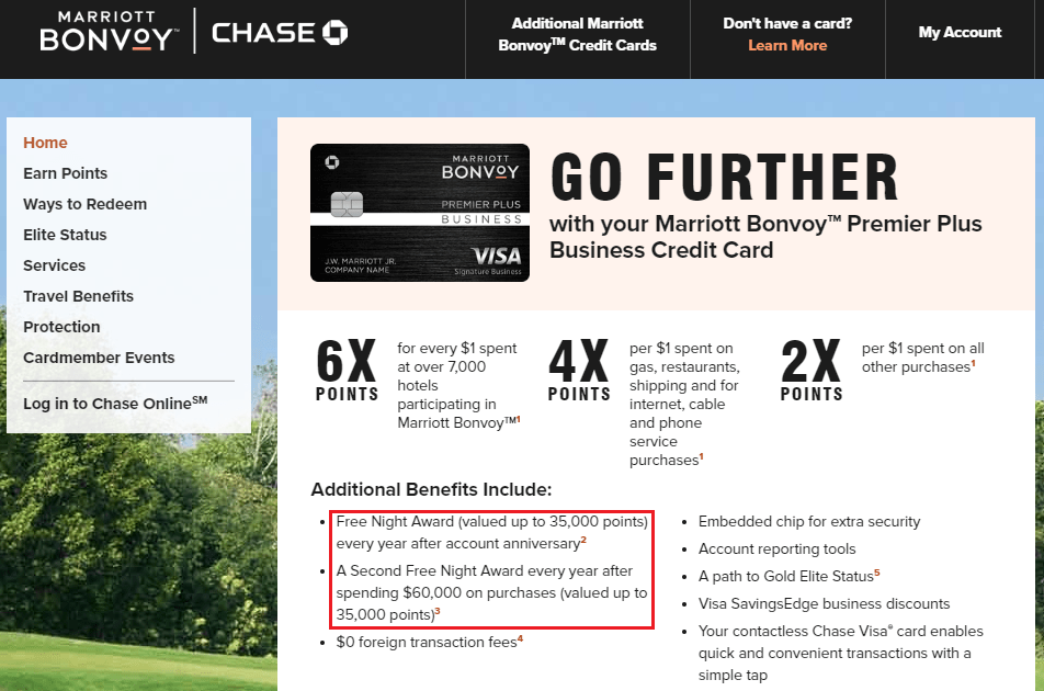 Here's our full advertising policy: Sweet Retention Offer On Chase Marriott Bonvoy Business Credit Card Annual Fee