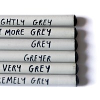Fifty shades of grey? No, six