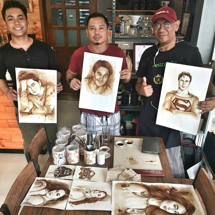 Rens Tuzon The Coffee Painter (1)