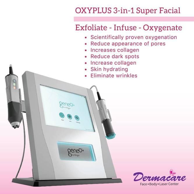 Dermacare: OxyPlus Super Facial
