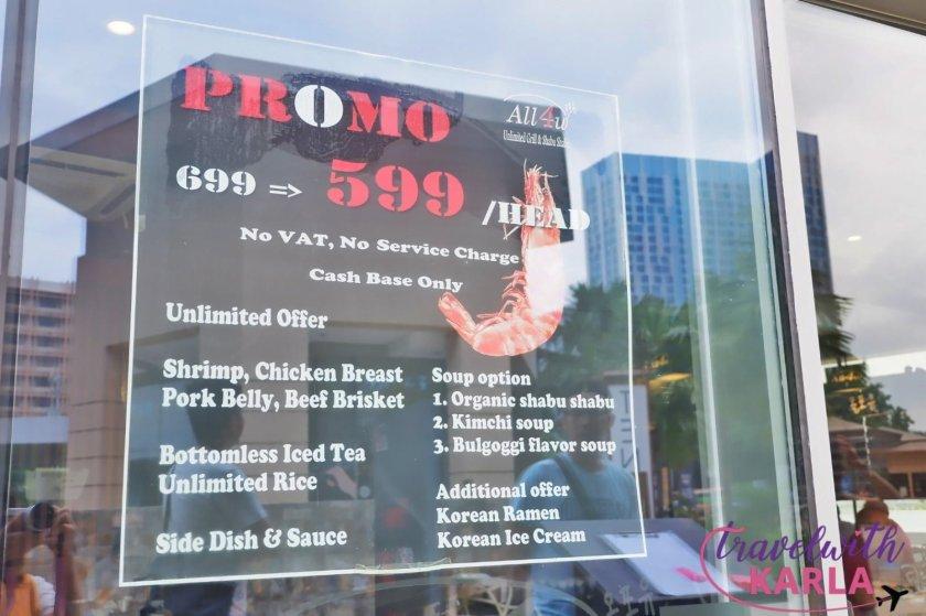 ALL4U Unlimited Grill & Shabu Shabu