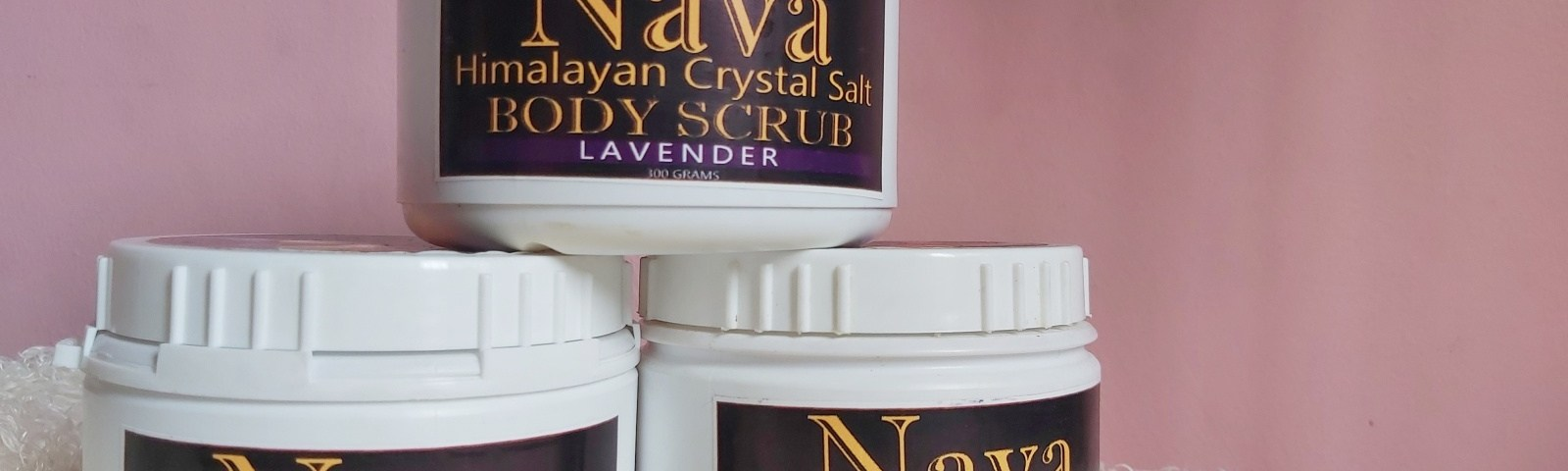 Nava Himalayan Crystal Salt Body Scrub