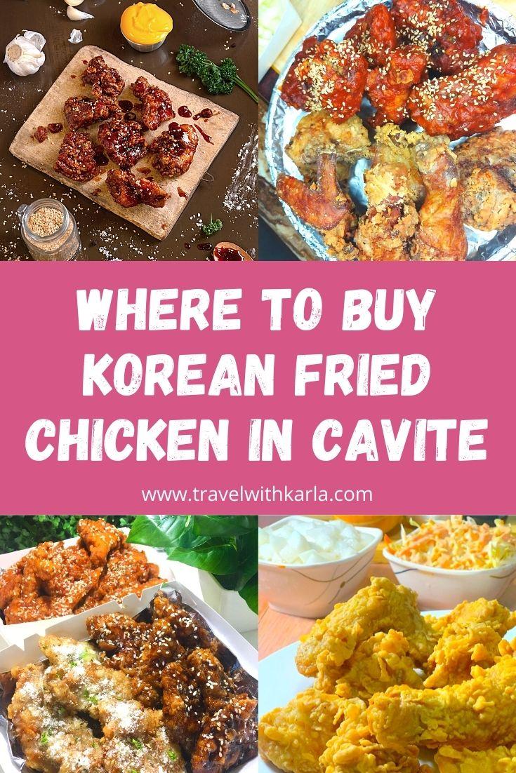 Korean Fried Chicken in Cavite