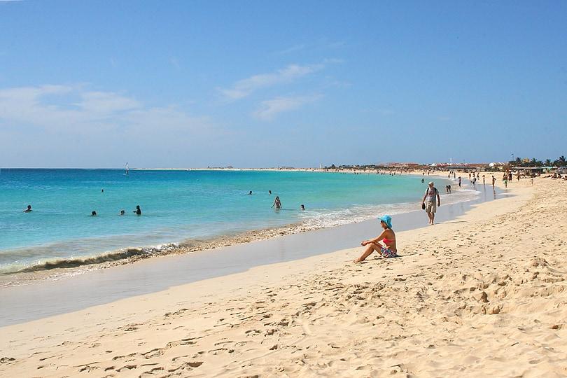 Santa Maria beach, Sal, Cape Verde