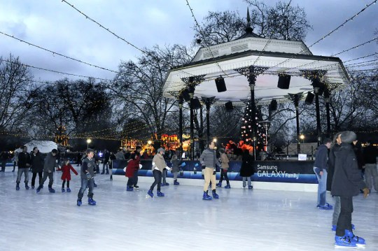 ice rink hyde park, Christmas Markets