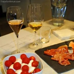 pairing Italian food and wine