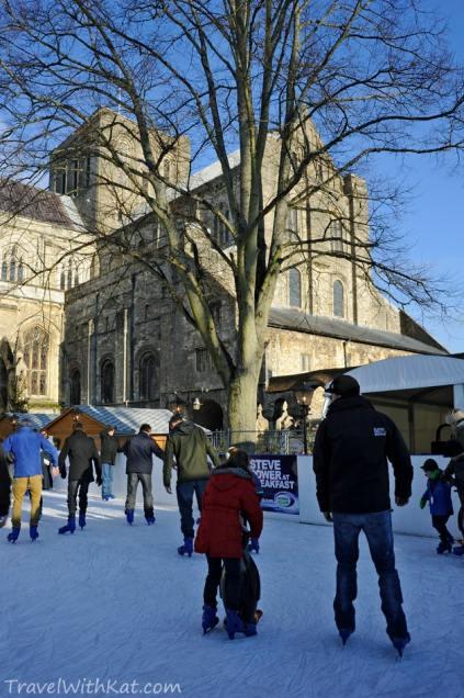 Skating in Winchester