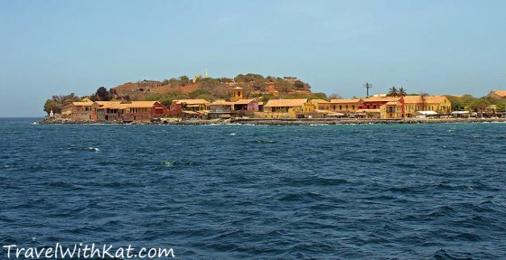 Goree Island from the sea