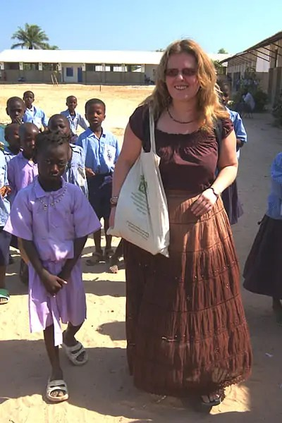 Sponsoring a child in Africa