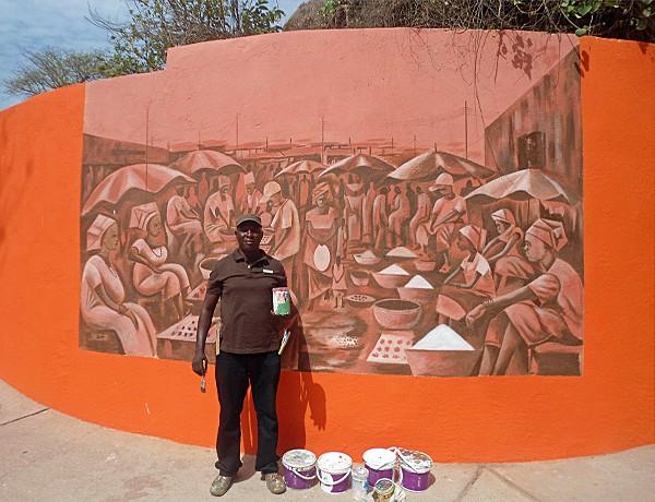 West African Art, Sheraton, Gambia