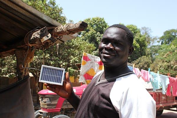 Solar power in Africa, Light up a village, Kanuma, #BlogGambia, Solar power