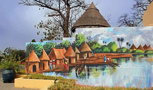 West African Art, Ibrahim Sesay Jr