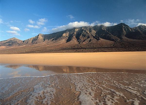 Playa de Cofete. Parque Natural de Jandía. Fuerteventura.