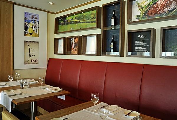 Spirit of Britain, Brasserie