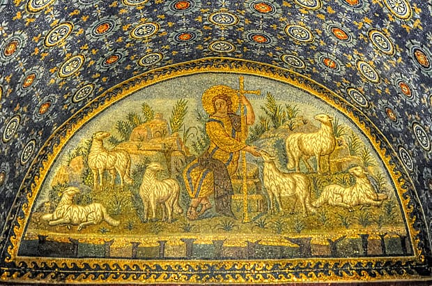 Ravenna mosaics, Mausoleum of Galla Placidia