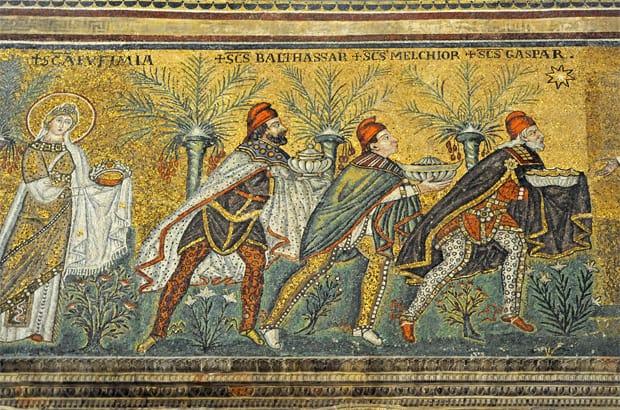 Ravenna mosaics, Basilica of Sant' Apollinare Nuovo