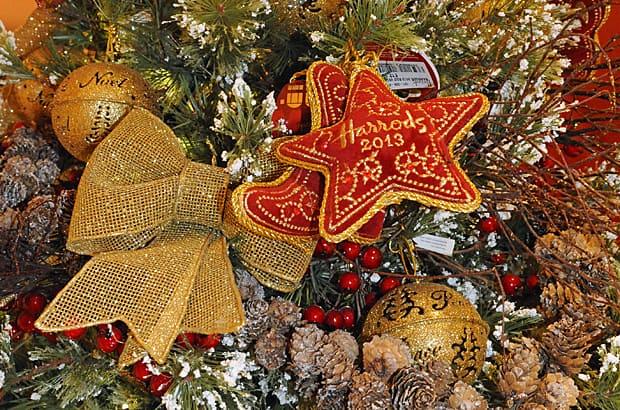 Christmas at Harrods