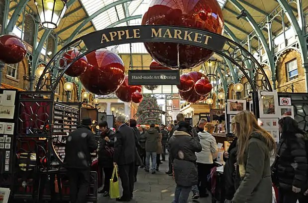 London Christmas, Apple Market