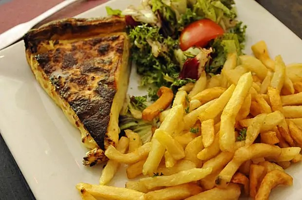 France – A terrific tavern and a tasty tart