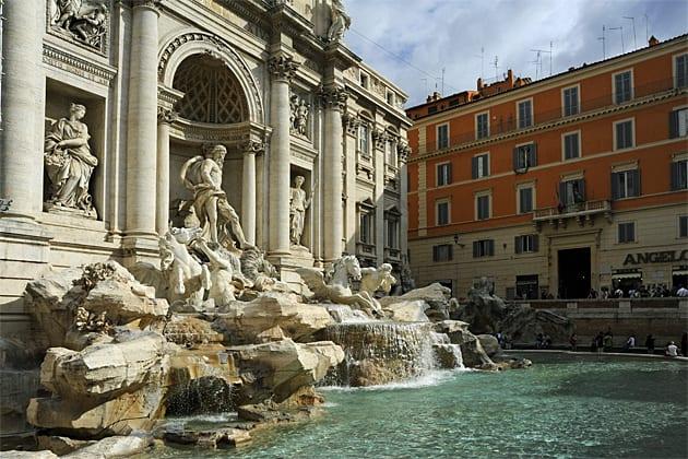 City breaks to Rome, Trevi Fourtain