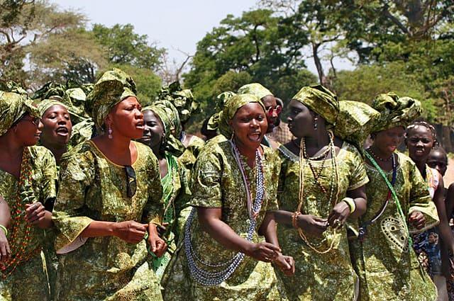 Jola women's group